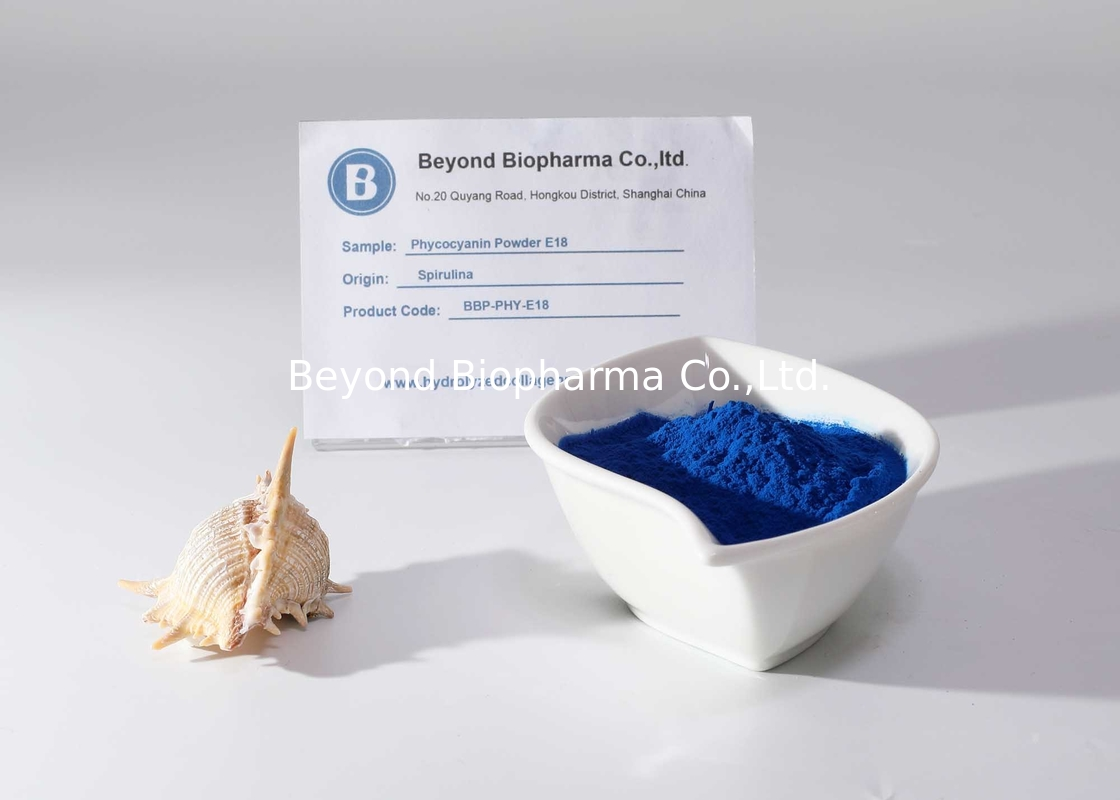 Blue - Green E25 Phycocyanin Powder , Algea Extract Blue Spirulina Powder
