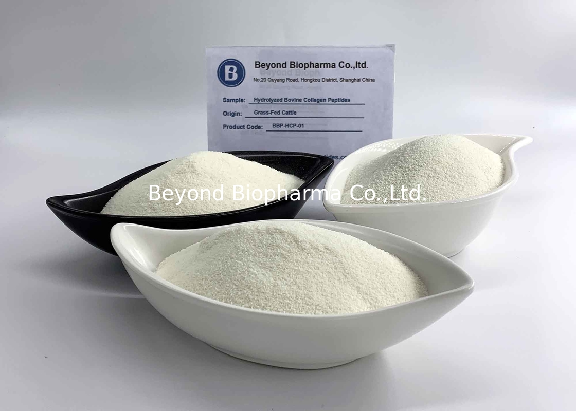 Food Grade Bovine Hydrolyzed Collagen Peptides From Bovine Skin Odorless