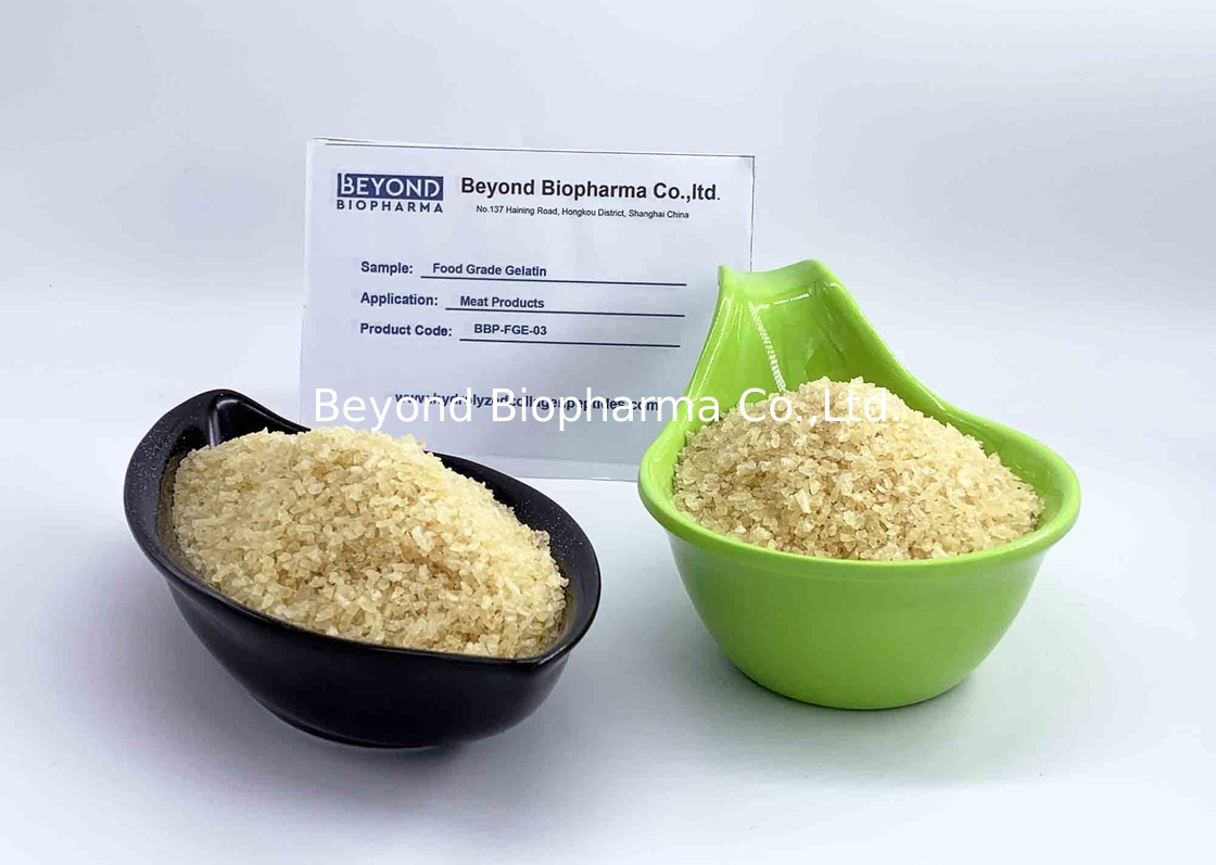 Food Grade Bovine Gelatin Powder For Increase The Moisture Content In Meat Products
